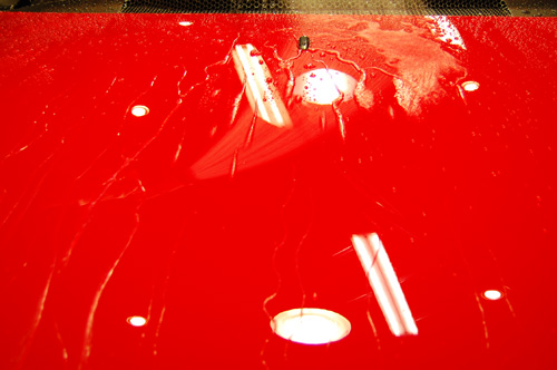 リボルト施工後の洗車時の様子01